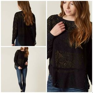 NWT Free People lace top size xs